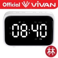 Vivan VS5 Dual Smart Alarm Clock Bluetooth Speaker 5.0 With FM Radio