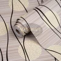 Bunga Dandelion Cream Wallpaper | 45 CM x 10 M