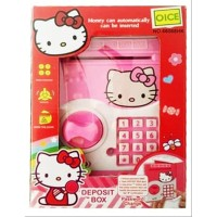 Mainan Anak Deposit Box Hello Kitty Brankas ATM Saving Money Celengan