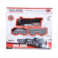 Mainan Anak - Rail King Intelligent Classical Train Set Kereta 19051-