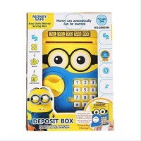 Mainan Anak - Deposit Box Minion Brankas ATM Saving Money Celengan
