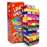 Mainan Edukatif / Edukasi Anak - Uno Stacko Tumbling Stacking Tower