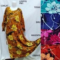Daster Long Dress Payung Baju Tidur Premium Batik Pekalongan PM 1