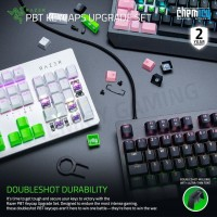 Razer Double Shot PBT Keycaps Upgrade Set For Mechanical Keyboard