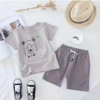 [ New Import ] Setelan baju santai anak laki perempuan / pakaian anak