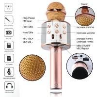 Mic WS 858 Karaoke Bluetooth Microphone Wireless