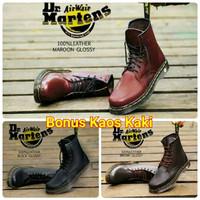 Sepatu Boots Pria Dr.Martin Boots Docmart 8 Hole Original Handmade