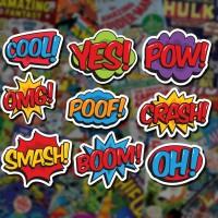 Stiker/Sticker Comic Speech Bubbles untuk Laptop, Mobil, Koper, dll