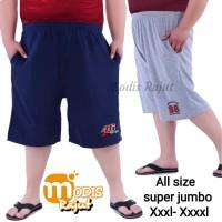 Celana Pendek Kaos FE / celana pendek santai SUPER JUMBO