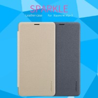 XIAOMI MI MAX 3 HARD CASE NILLKIN SPARKLE ORIGINAL FLIP COVER LEATHER