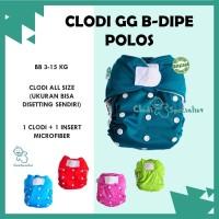 ORIGINAL Clodi GG B Dipe Solid - Popok Kain Cuci Ulang Anak