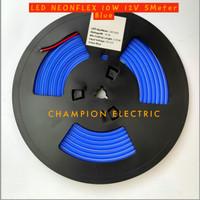 Lampu LED Neon Flex Blue Biru 5M 5Meter Premium Quality