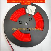 Lampu LED Neon Flex Orange 5M 5Meter premium Quality