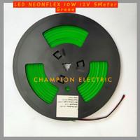 Lampu LED Neon Flex Green Hijau 5M 5Meter Premium Quality