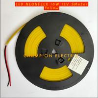 Lampu LED Neon Flex Yellow Kuning 5M 5Meter Premium Quality