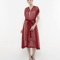 Atelier Cocktail Dress Geometrique Pattern Dephne