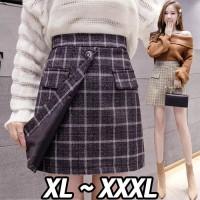 (#8918 XL/XXL/XXXL)Minjung Skirt/Rok Spring/Rok Kerja