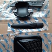Paket Cover Handle Outer Pintu dan Tank Bensin CALYA Blacktivo JSL