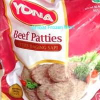 Beef Patties Burger Yona 500gram/isi 10pcs