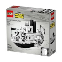 LEGO 21317 Disney Mickey Mouse Steamboat