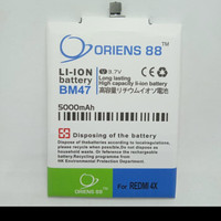 BATERAI BATRE BATTERY DOUBLE POWER XIAOMI REDMI 4X/BM47