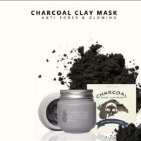 clay mask charcoal MSGLOW