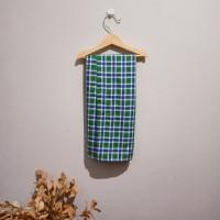 Sarung Anak Instant Model Rok Bukan Celana - Warna Biru Hijau