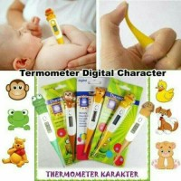 Thermometer Termometer Digital Elastis Karakter Animal Alat Pengukur