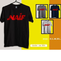 Kaos Baju Simpel Combed 30s Distro Naif Band Indonesia Polos Custom