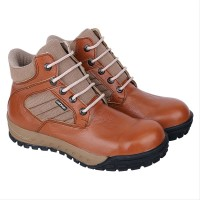 Sepatu Safety Boots Pria Ujung Besi C191 onderdil