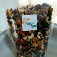 Raw Trail Mix Nut Fruit 500 Gr