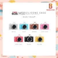 Silicone Canon EOS M50 Silikon Case / Sarung Silicon Kamera