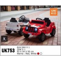 Mobil Mainan Aki Anak Murah Unikid Mini Jeep UK753