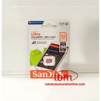 Microsd Sandisk A1 - 32GB (CL10 UHS - Speed 98mb/s)