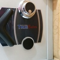Brankas mini TrueSafes 60 cm berat 220 kg Rumah Kantor emas uang arsip