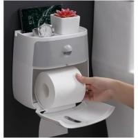 Ecoco Kotak Tisu Toilet / Tempat Tissue Toilet / Rak Tissue Toilet