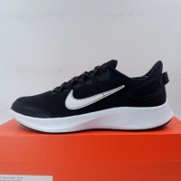 Sepatu Running/Lari Nike Runallday 2 Black White Iron CD0223-003 Ori