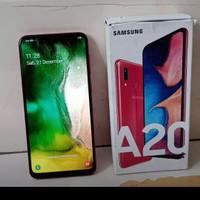 Samsung A20 seken fullset merah