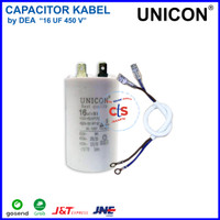 16 uf - 450V Kapasitor (Capacitor) Kabel UNICON (Spare Part Pompa Air)