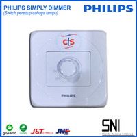 PHILIPS Simply Dimmer | Switch Peredup Cahaya Lampu