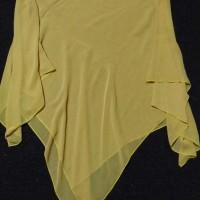 Jilbab Segi 4 Polos warna kuning