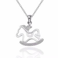 Tiaria Gold Plated Necklace Pendant Fashion SPCN615 Kalung Lapis Emas