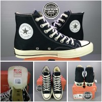 Sepatu Converse 1970S 70S hi high black white original premium import