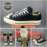 Sepatu Converse All star 1970S 70S Low Black White Original Premium