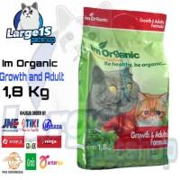 Im Organic growth and adult 1,8kg makanan kucing Imo