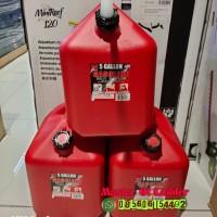 Jerigen Jerry Can Bensin MIDWEST Jerigen Plastik Gasoline HDPE 18 L