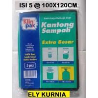 Klinpak Plastik Kantong Sampah 100x120 Cm isi 5