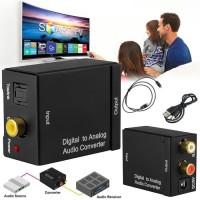 Digital to analog audio converter toaslink optical