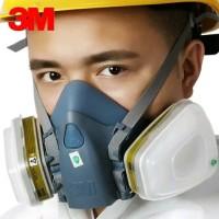 Masker 3M Seri 7502 set 7 in 1