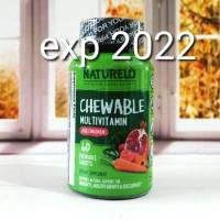 NATURELO Chewable Multivitamin for Children isi 60 tablets ORI USA